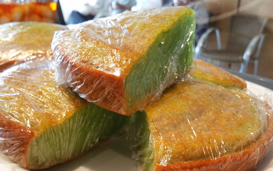 Grilled Sticky Rice Cake